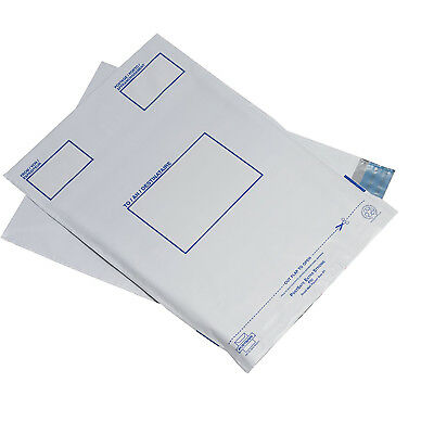 Postsafe Polythene Envelopes 240x320 mm (9.4''x12.5'') 5 Pack