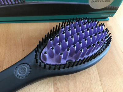 Brand New Dafni Hair Straightener Ceramic Brush Combin Ladies Hair