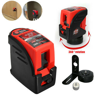 Automatic Self-Leveling Cross Rotary Laser Level Measure 360 Degree Waterproof