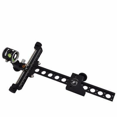 "1 Pin 0.059""  Compound Bow Sight with Micro Adjust on extension bar"