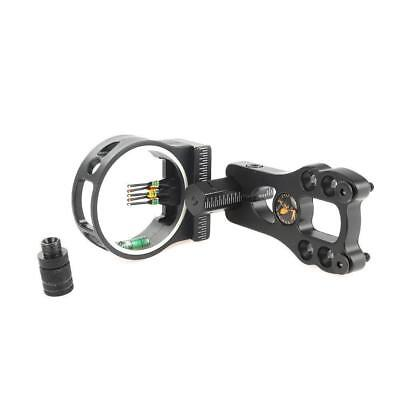 5 Pin Adjustable fiber optic Compound Bow Sight  with Light DEFAULT CATEGORY