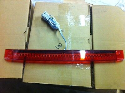 "Red Spoiler LED Third 3rd Brake Light NEW 16.5"" Fits P.U. Spoilers only"