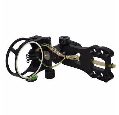 "5 Pin Micro adjust Compound Bow Sight with  0.019"" pins"