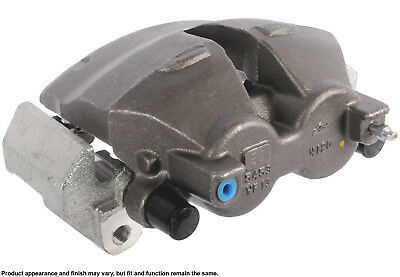 Disc Brake Caliper-Friction Choice Caliper w//Bracket Rear Left Cardone Reman