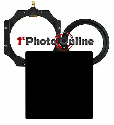 100mm 10 Stop Kit ND 3.0 + 77mm Ring 4x4 Filter Holder High Quality Glass Filter