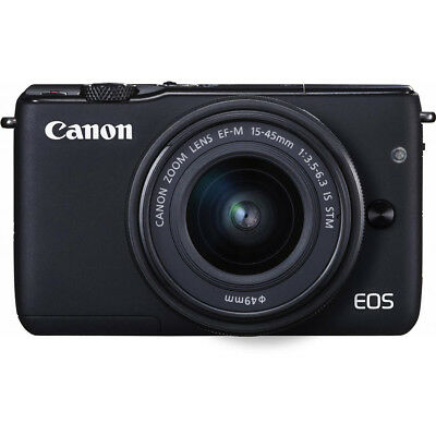 Canon EOS M10 Mirrorless Camera Kit with EF-M 15-45mm STM Lens Kit
