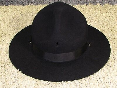 849913c731860 NEW OLD STOCK Beaver Brand 5X Beaver Frontiersman Black Hat Finished ...