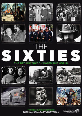 The Sixties (10 Episodes) NEW PAL Series Documentaries 3-DVD Set Simon Brown