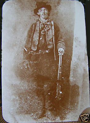 Billy the Kid Old West Post Card William Bonney  New