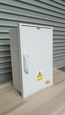 Emiter Electric Meter Box Recessed 395mm W x 612mm H x 214mm D.