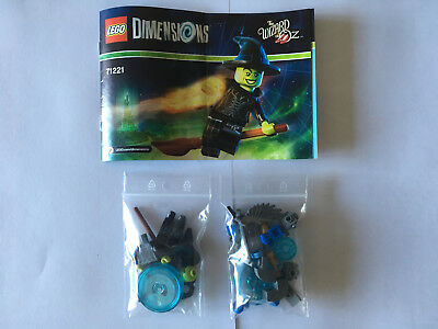 Lego Dimensions Fun Pack 71221 Wizard Of Oz Wicked Witch Winged Monkey Tbe