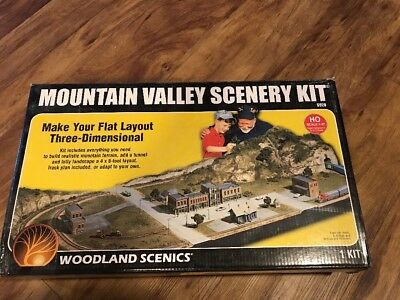 Woodland Scenics Mountain Valley Scenery Kit HO Scale 1:87