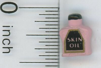Dollhouse Miniature Pink Bottle of Skin Oil by Multi Minis