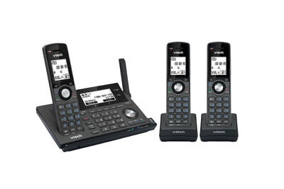 Vtech 17850 triple 3 handset cordless telephone phone with mobile connect dect