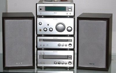 Sony CMT-SP55TC   FULL ''4'' TIER HI-FI COMPONENT SYSTEM CD/TUNER/AMP/TAPE