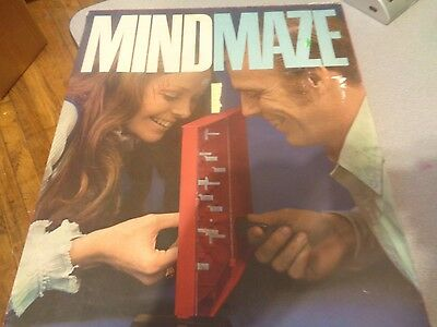 MindMaze Game Parker Brothers 1970 Game in Original Box with extra pieces