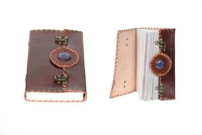 100% genuine Leather Journal Notebook Diary Handmade Blank Book Vintage