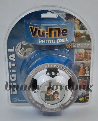 Vu-Me Photo Soccer Ball Digital Photo Frame~NEW