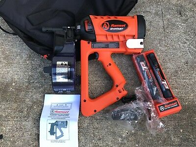Ramset GYPFAST (G2) Brand New Gas 2 Batteries and Charger