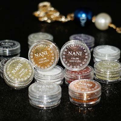 Makeup Sparkly Eyeshadow Palette Loose Pigment Glitter Single Color Powder