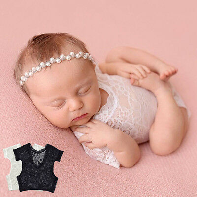Newborn baby girls Lace Romper Costume for Photography Newborn Infant Clothing