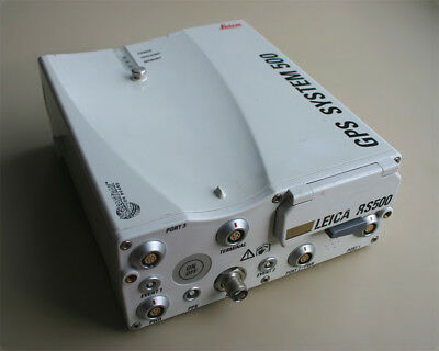 LEICA RS500 24ch dual-frequency Reference Station GPS survey receiver Referenz