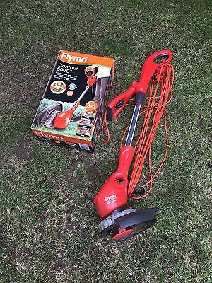 FLYMO CONTOUR, 500E TRIMMER GARDEN STRIMMER GARDEN GRASS LAWN Boxed, used twice