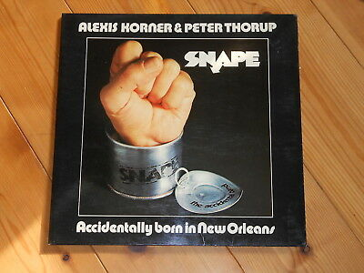Alexis Korner & Peter Thorup – Snape – LP – Accidentally Born In New Orleans