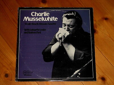 Arhoolie - Charlie Musselwhite - LP - Goin' Back Down South - Lafayette Leake