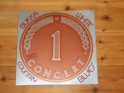 Bukka White - LP - Country Blues - 1975 PRIVATE PRESS - Sparkasse In Concert