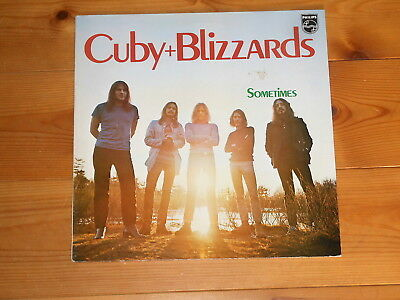 Cuby + The Blizzards - LP - Sometimes - NL 1972 - Philips 6440 311
