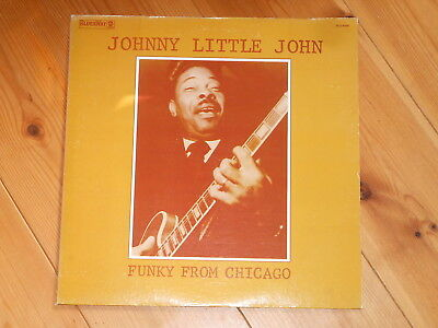 Johnny Little John – LP – Funky From Chicago - USA 1973 - BluesWay BLS 6069