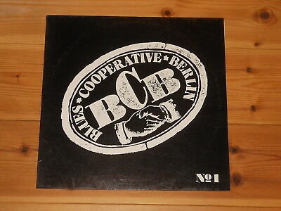 Private German Blues / Bluesrock LP - Blues Cooperative Berlin No 1 -Our Baggage