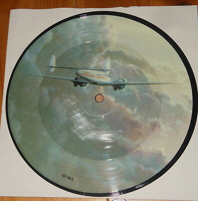 """Mike Oldfield - 7"""" PICTURE Single - Five Miles Out - UK 1982 - Virgin VSY 464"""