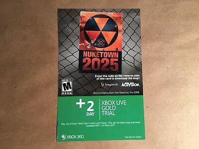 Call of Duty Black Ops II Xbox 360 Nuketown 2025 Add On Content Ships Fast