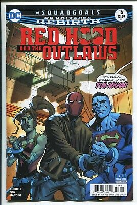 RED HOOD and the OUTLAWS #16 - REBIRTH - MIKE MCKONE REGULAR COVER - DC/2017