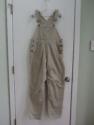 Tomorrows Mother Sport women's maternity khaki overall size S/P