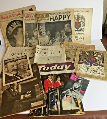 Royal Family, horse & other animals scrapbook of newspaper cuttings 1930s-1970s