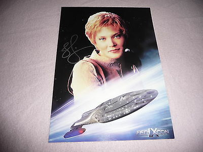 Jennifer Lien In Person Autogramm + Coa *star Trek Voyager* /ansehen/