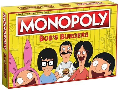 USAopoly MONOPOLY®: Bob's Burgers Board Game