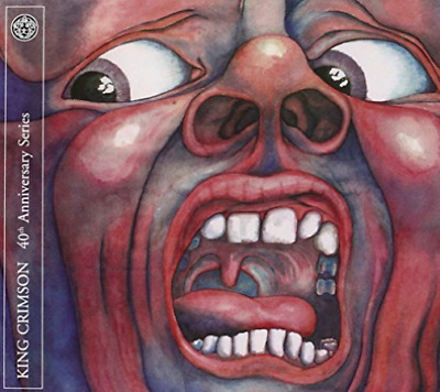 King Crimson-In the Court of the Crimson King  CD with DVD NUEVO