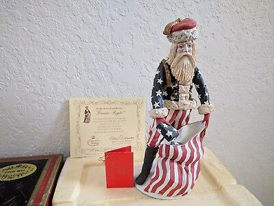 "Duncan Royale History of Santa CIVIL WAR 1990 12"" Tall 6217 of 10,000 SIGNED"