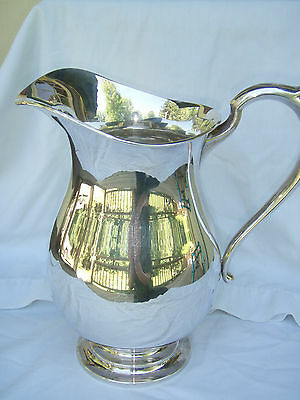 Huge Sterling Silver 950 Japanese Water Pitcher K Uyeda Tokyo 1,010 grams Great