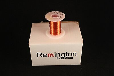 Remington Industries 28SNSP .25 28 AWG Magnet Wire Enameled Copper Wire 4 oz