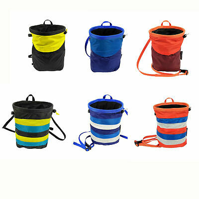 Brand New CLIMBX Rock Climbing Chalk Bag 6 Colurs CLIMBGEAR Outdoor Sports