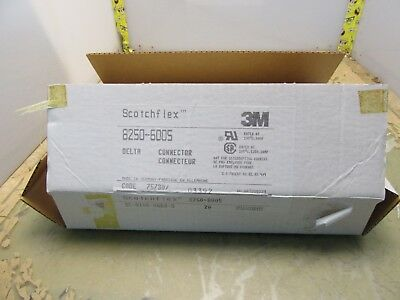 box of 20x 3m 8250-6005 scotchflex connectors 50 pos dsub IDC [22-A.17]