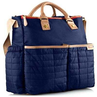 Diaper Bag- by Maman - with Matching Changing Pad - Stylish Designer Tote for...