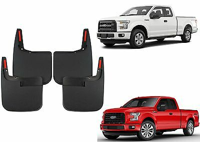 Molded Mud Flaps For   Ford F  Without Fender Flares New
