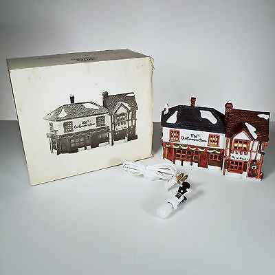 Dept. 56 Dickens' Village Series The Old Curiosity Shop Christmas Home Decor