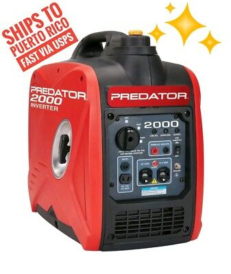 Predator 2000 Watt Generator Inverter, Super Quiet and Small (Ships to PR)